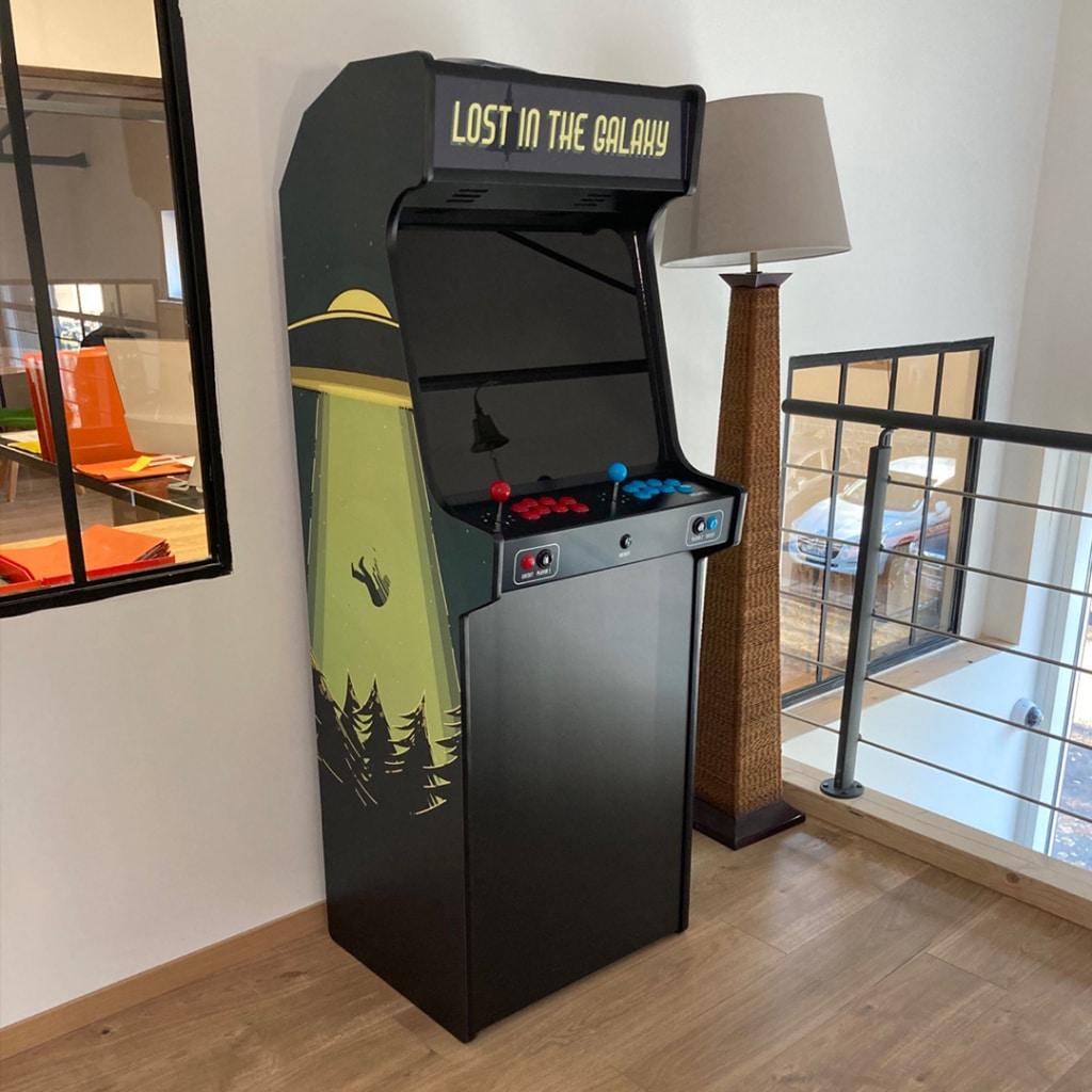 borne arcade science fiction