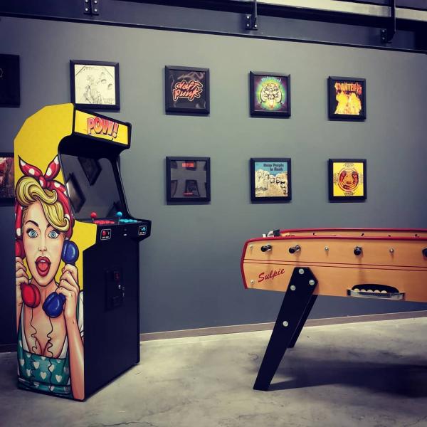 Borne d'arcade Pop Art Pow