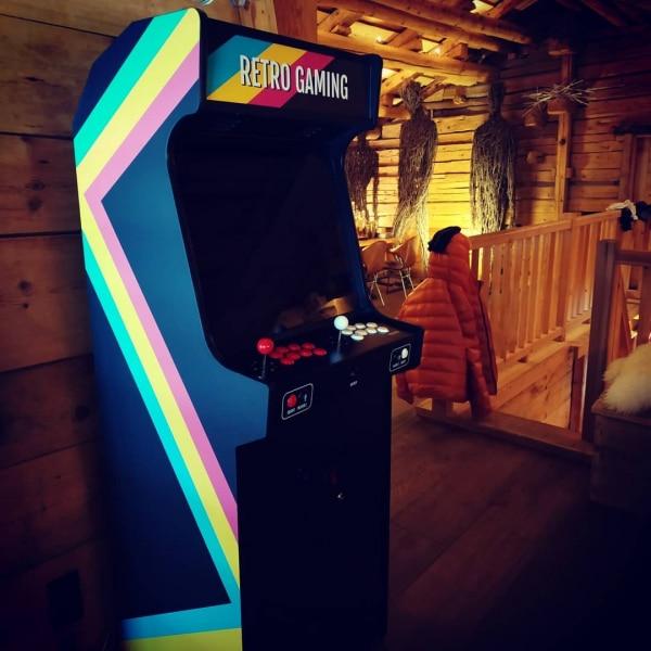 Borne d'arcade Retro