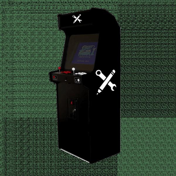 Je personnalise ma borne d'arcade