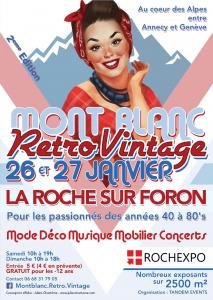 Salon Mont Blanc Retro Vintage