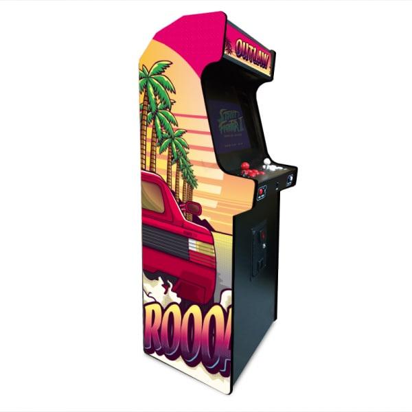 Borne de jeux d'arcade – Run X Tougui