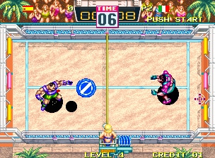 disc windjammer arcade
