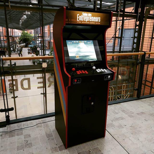 borne arcade entreprise