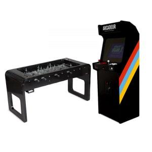 Pack baby-foot Smartline Stella + borne d'arcade au choix