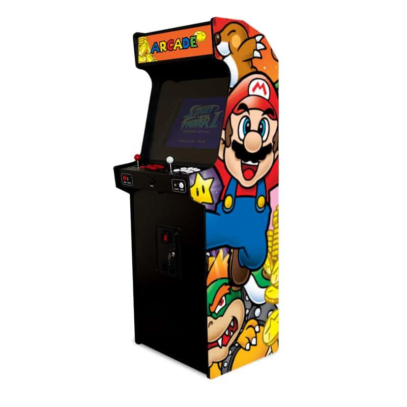 borne arcade mario