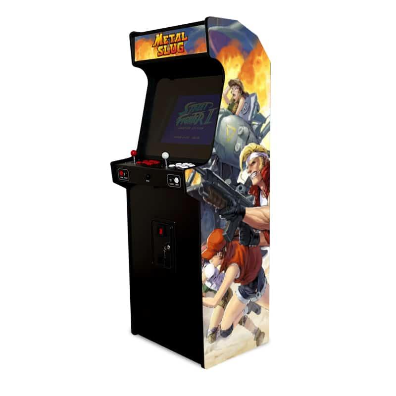 borne arcade metal slug