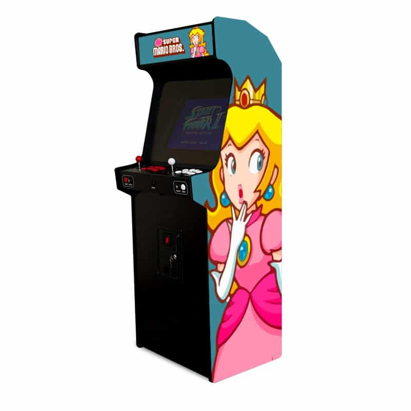 borne arcade princesse Peach