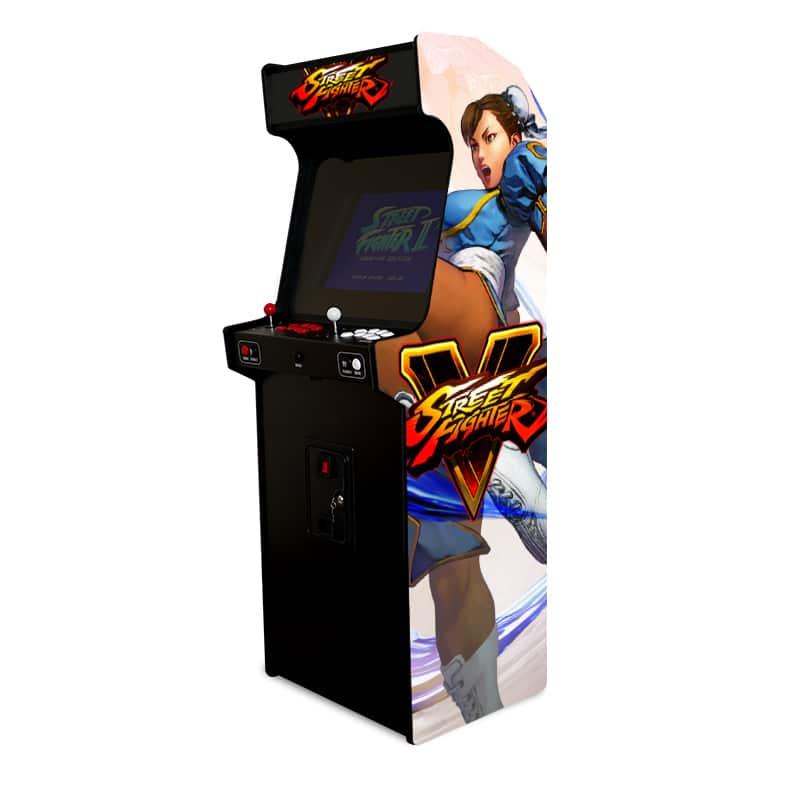 borne arcade street fighter ii