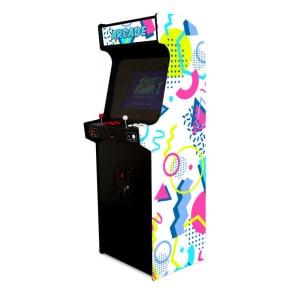 Borne de jeux d'arcade – Memphis Blanc