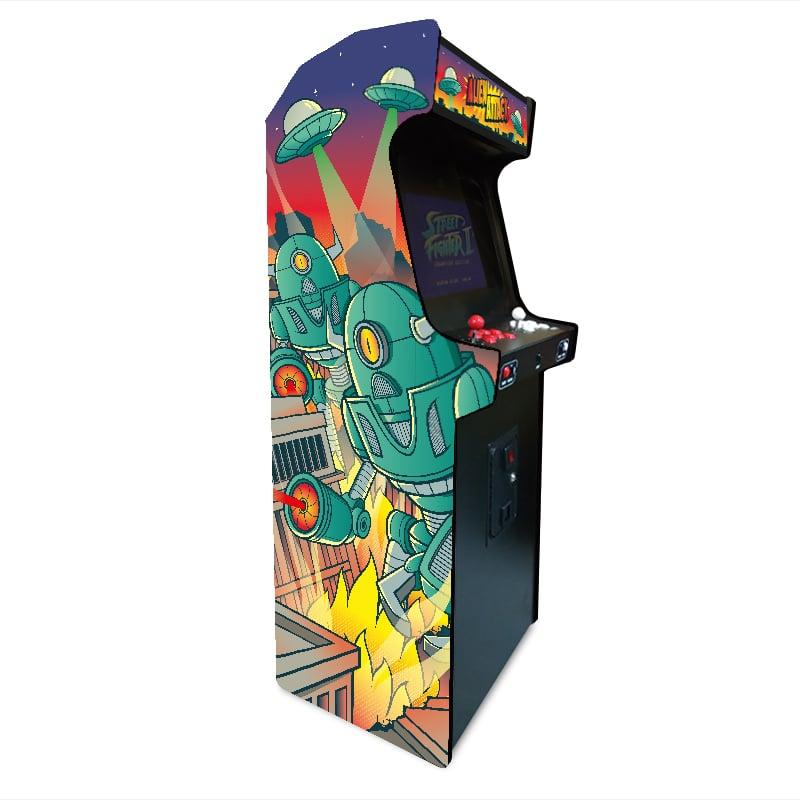 borne arcade Alien Attack