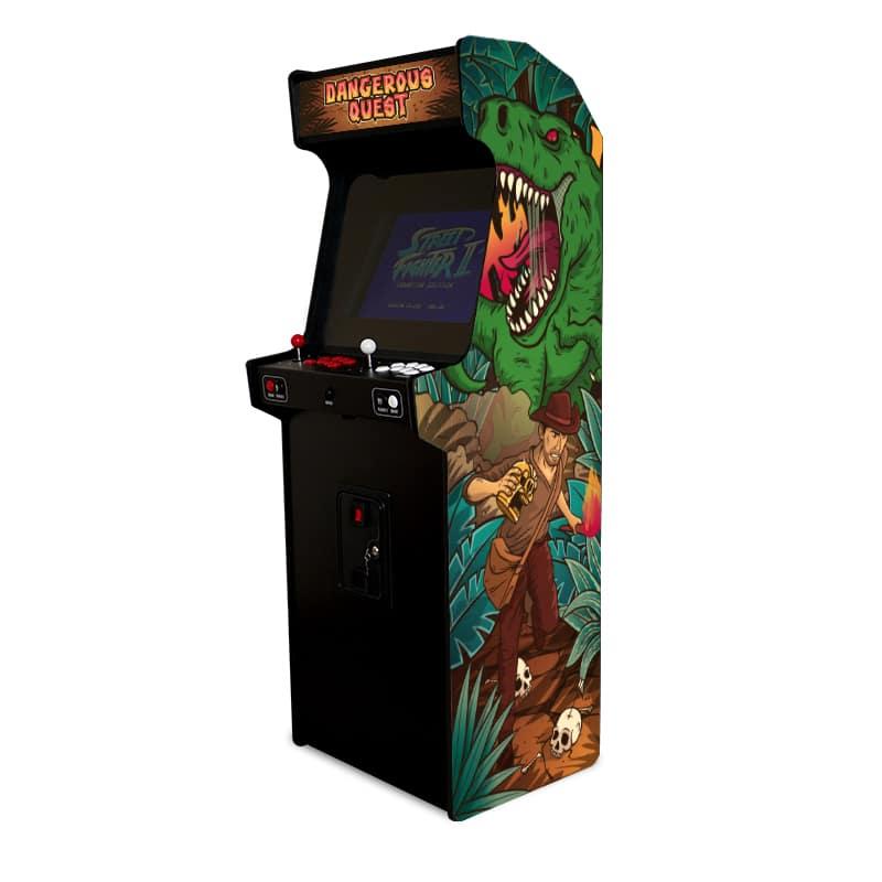 borne arcade jurassic