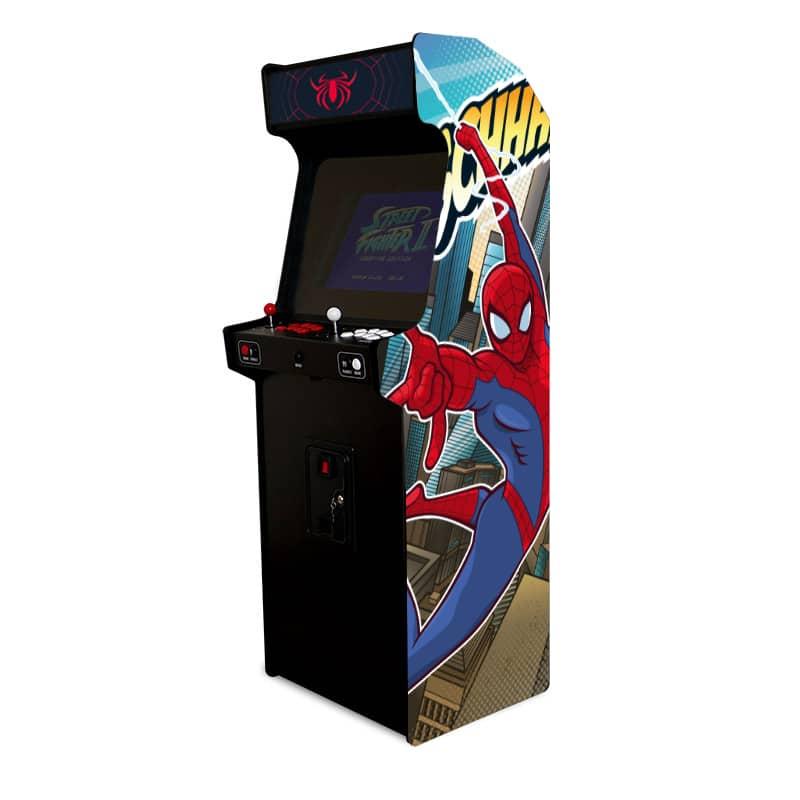 borne arcade spiderman