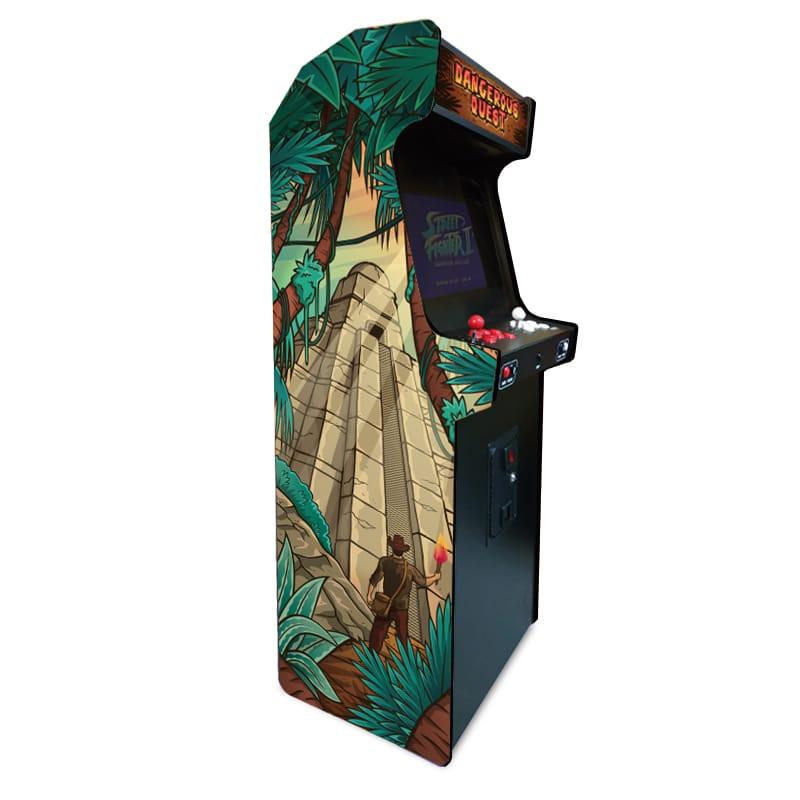borne arcade indiana jones