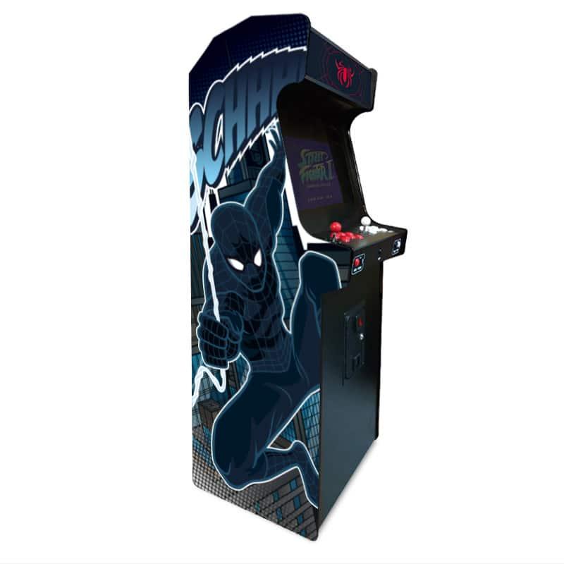 borne d'arcade spiderman