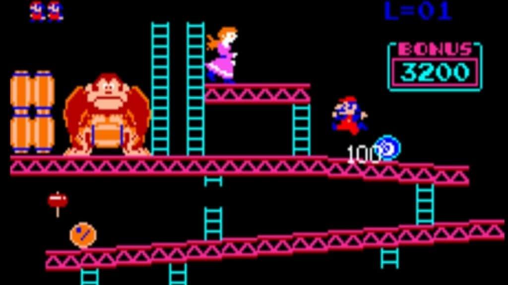 Donkey Kong borne d'arcade